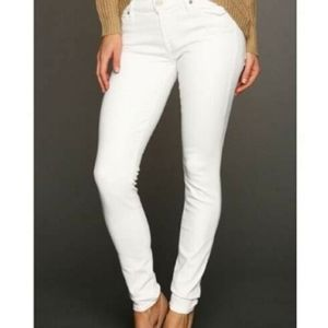 💕 EUC 7 for all Mankind, The Skinny, white jeans